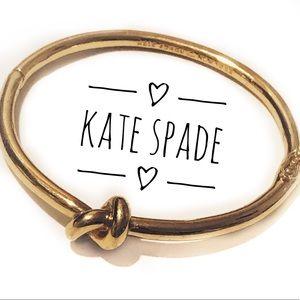 Kate Spade ♠️New York Gold Clasp Bangle Bracelet